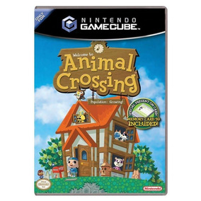 Jogo Animal Crossing: Population: Growing - Gc - Gamecube