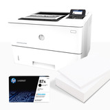 Hp Impresora Laser Enterprise M506dnm + Resma De Papel