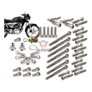 Clown Allen Inox Kit 51 Parafusos Motor Titan Cg150 2003-16 O Mais Completo Do Mercado
