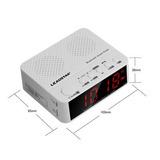 3 En 1 Mini Reloj Despertador Radio Fm Mp3 Player Bluetooth