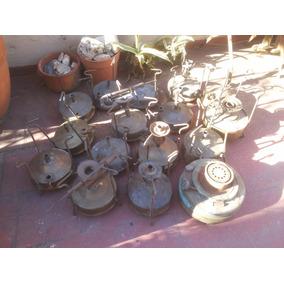 Antiguo Calentador Kerosene Bronce Todo El Lote En Oferta !!