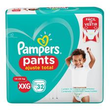64 Pañales Pampers Pants Confort Sec Bombachitas Talle Xxg