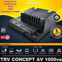 Estabilizador De Tension 1000va Audio/video/computacion Trv