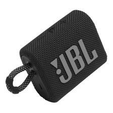 Alto-falante Jbl Go 3 Portátil Com Bluetooth Black