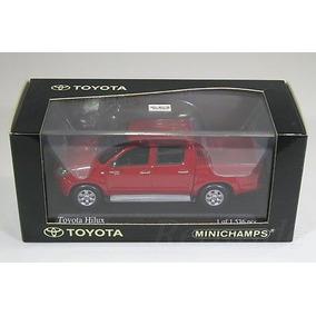Miniatura Toyota Hilux Vermelha 2007 Raríssima 1:43 Linda