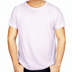Camisetas Brancas Masculinas 100% Poliéster Para Sublimação
