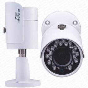 Camera Ip Mini Bullet Intelbras 3 Mp 30 M Vip S3330 G2