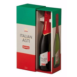 Champagne Gancia Asti Italiano Con Estuche