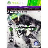 Tom Clancys Splinter Cell Blacklist Ed. Especial Xbox 360