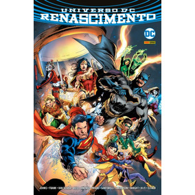 Universo Dc Renascimento Revista Hq Panini Comics Lacrado