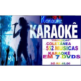 7 Dvds Musicas Karaokê Pop Rock Mpb Sertanejo Frete Grátis