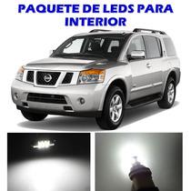 Nissan Armada 2005 2013 Paquete Led Para Interior Kit Blanco