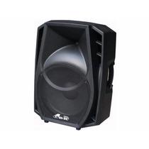 Bafle Potenciado Gbr Pl 1500 Mp3 Usb Bluetooth Radio Fm 500w