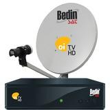 Kit Oi Tv Livre Hd (antena Com Logo Sky+receptor+cabo20mtrs)