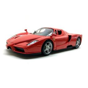 Miniatura Ferrari Enzo Metal Replica 1 24 Vermelha Bburago