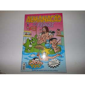 Almanacão De Férias Turma Da Mônica Nº 34 + Brinde