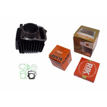 Kit Potencia Motor Biz100 / Pop 100 P/ 120cc+carburador 125