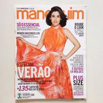 Revista Manequim Renata Vasconcellos Ano 2014 N°666