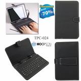 Capa Case Com Teclado Usb Com Mini Usb Tablet 7