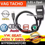 Vagtacho Interface Escaner Pincode Volkswagen Chevrolet Opel