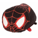 Peluche Kid Arachnid Spiderman Negro Tsum Tsum Disney Store