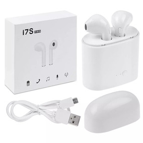 Audífonos Inalambricos I7s Tws Tipo Airpods Android O Iphone