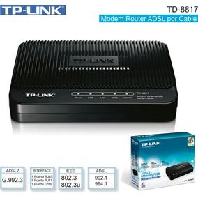 Modem Router Adsl2+ Tp-link Td-8817 Internet Banda Ancha