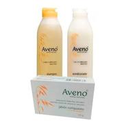 Combo Aveno Shampoo Acondicionador Jabon Avena