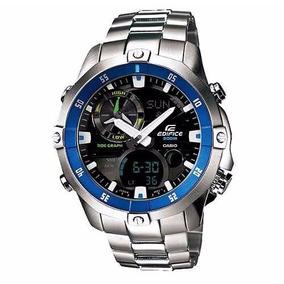 Relógio Casio Edifice Ema100d1a2v Novo
