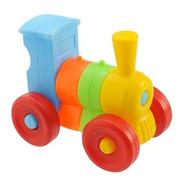 Trenzinho Didático Brinquedos Educativos Monta E Desmonta