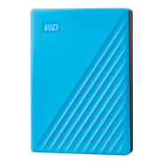 Disco Externo Western Digital 4tb My Passport Azul