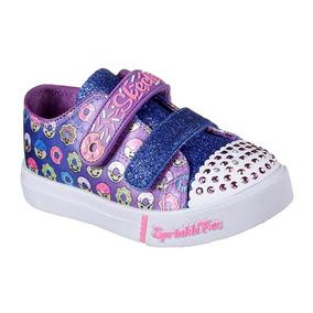 Zapatillas Skechers Niñas Con Luz Originales Cal.100%+