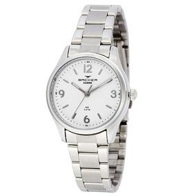 Relógio Feminino Backer Analógico 10263123f - Prata