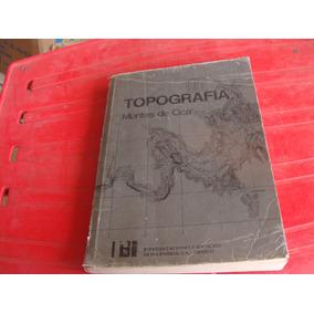 Libro Topografia Montes De Oca , Representaciones Y Servicio