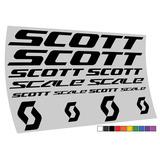Adesivo Scott Scale Mtb Speed 10 Cores Frete Gratis