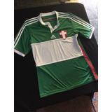 Camisa Cruz De Savoia Palmeiras Verde Usado no Mercado Livre Brasil 8b5c25ae559d8