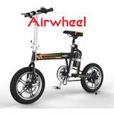 Bicicleta Electrica Airwheel R3 Plegable Lima By Panasonic