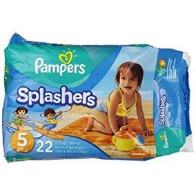 Pampers Splashers Fraldas - Jumbo Pack - Tamanho 5 - 22 Ct (