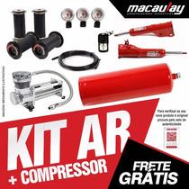 Fiat 147 Susp Ar 12mm Bloco 4x1+compressor Macaulay Oficial