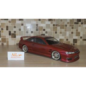 Bolha Nissan Silvia S14 - 1/10 200mm Bolhapoint - Pintada