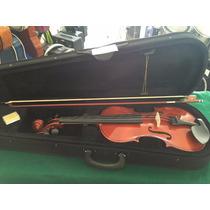Violin Paris 4/4 Incluye Arco, Brea Y Estuche Nuevo Maxima
