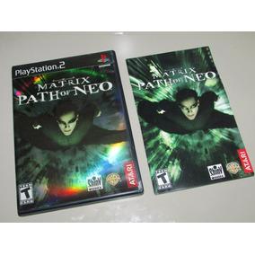 Ps2 Matrix Path Of Neo Original Completo Americano Raridade!
