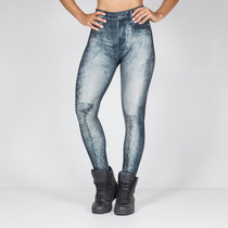 Legging Stoned Blue Labellamafia Ref 11147 (já Com 40% Off)