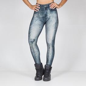 Legging Stoned Blue Labellamafia Ref 11147
