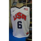 Camisa Basquete Seleção Estados Unidos - James 6