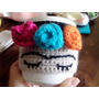 Frida Taza Mas Funda Tejida A Crochet