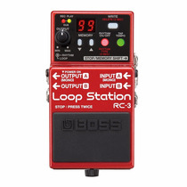 Pedal Boss Rc3 Loop Station 99 Memorias Rc 3 Nota Fiscal