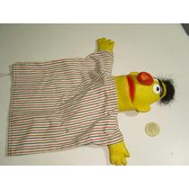 Juguete Vintage Títere Marioneta De Beto De Plaza Sésamo