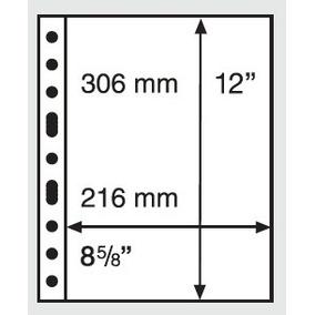 5 Folhas Leuchtturm Grande C - Para Cédulas/documentos