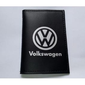 Carteira Masculina Porta Documentos De Carro Moto Volkswagen